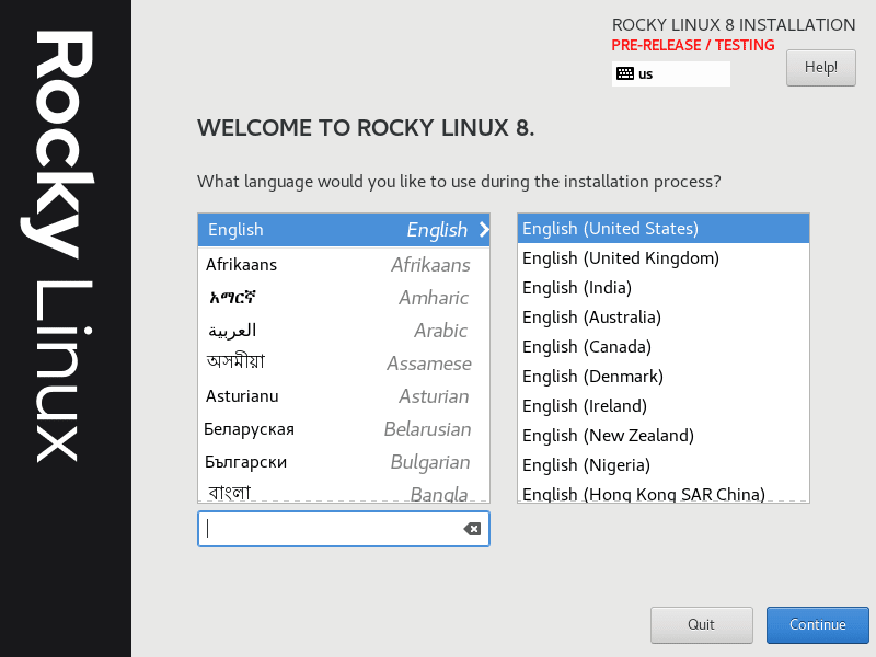 Rocky Linux virtuwise